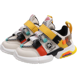 Kids Sneakers Boys Running Shoes Toddler Baby Girls Casual Sport Shoes Fashion Trend Children Breathable Mesh Infant Flats