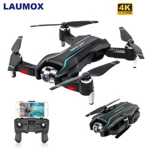 LAUMOX S17 RC Drone With 4K Adjustable Wide-Angle HD Camera Optical Flow Drone Foldable Quadcopter RC Helicopter VS SG106 XS812 T191016