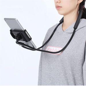Новый гибкий держатель мобильного телефона висит шеи ленивый ожерелье стенд для мобильного телефона с планшетами бесплатная доставка
