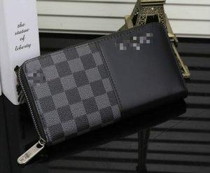Best brand Fashion accessories for men and women Leather Clutch Wallet Zipper Purse Luxury Designers clutch