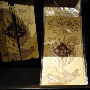 Харри Поттер Карта Мародера Качество Волшебство Мир Качества Подарки Фанаты Вечеринка J190427