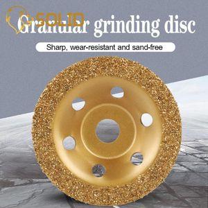 Grinding Disc 100 millimetri diamante brasato Tipo Cup per Concrete Wall Piano Terra Grinding Angle Grinder Accessori
