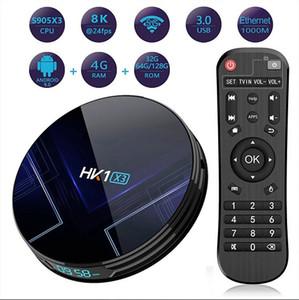 HK1 X3 Amlogic S905X3 أندرويد 9.0 TV BOX 4GB RAM 2. 4G5G Wifi BT4. 0 TV BOX PK TX6 H96 MAX