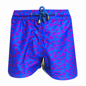 Vilebrequin mens Beach Shorts Vilebrequ shorts 0014 marque maillot de bain poulpe étoile de mer tortue impression mâle Short de bain à séchage rapide Vilebre