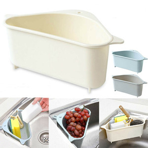 Kitchen Sink Strainers Vegetable and Fruit Storage Holders Kitchen Sink Storage Box Triangle Shelf Basket Kitchen Organizer DHL Fast Deliver