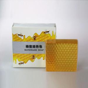 العناية الساخنة العسل اليدوية صابون مرطب اليد النظيفة العسل الطبيعي اليدوية الصابون العناية بالبشرة النفط تحكم سافون
