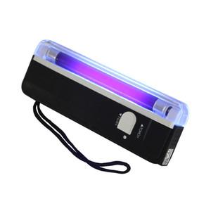 UV lanterna piscando tocha portátil Blacklight luz do tubo do bulbo detector de dinheiro Verifique bolso Lanterna #DX