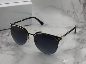 Nouvelle mode Marque Desinger Suglasses 2181 Half métal Cadres Unti-uv 400 Round Lunettes de protection avec l'objectif original BoxRelated
