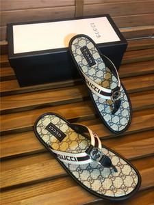 Baskılı harflerle Fashionable erkek terlik Plaj ayakkabıları deseni ile Sıcak Satış-Moda marka men'sfabric