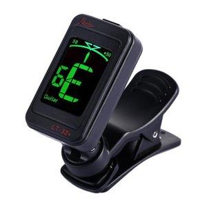 Clip-on Guitar Tuner de alta qualidade Digital Tuner para acústica Electric Bass Chromatic Violin Ukulele