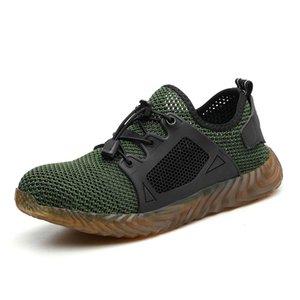 Indestructible Ryder Chaussures Hommes et femmes en acier Toe Air sécurité Bottes INCREVABLE travail Chaussures de sport Chaussures respirantes 5 # 20 / 20D50