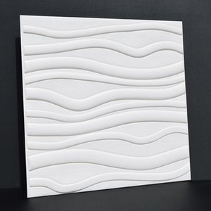 New Style Stereo 3D Elastic Wall Stickers Self Adhesive Wallpaper Living Household Cleaning Tools Housekeeping & Organization Room Bedroom W