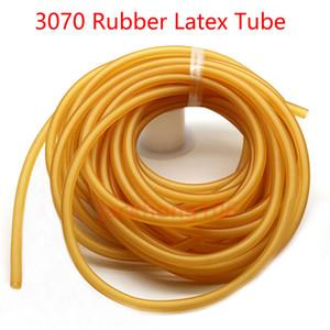 10M 3070 Slingshot látex de borracha Tubo de 7 milímetros OD 3 milímetros ID Elastic Tubing para Outdoor Slingshot Catapult Hunting Exercício