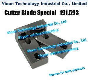 191,593 électroérosion Cutter lame spéciale A319 supérieure pour Agie classique, machines Evolution EdM pièces de rechange 191.593.3, 1915933, 590191593 place Cutter