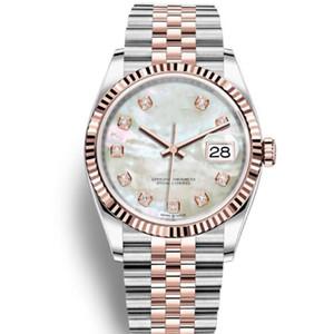 36 mm Moda Movimento Automático Mens Mecânica Jubileu Pulseira Mulheres Senhoras Relógios Relógios Assistir Homens