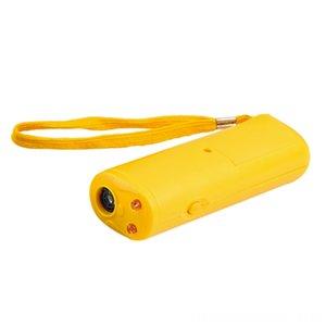 1 개 안티 짖는 중지 껍질 초음파 애완 동물 개 펠러 훈련 장치 트레이너와 함께 LED 개 높은 품질 3은 애완 동물 용품 공급