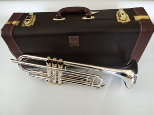NEW Trumpet LT197S-99 Bach High quality silver Plated Musical instruments Super Professional performance Free shipping