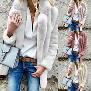 Terno-vestido Fur Short Loose Coat