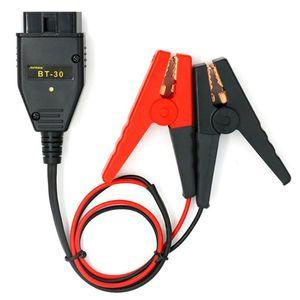 Cabos conectores de alimentação de substituição 12V Car ECU Memória Battery Saver ferramenta OBD2 II de energia de emergência Autool BT-30 AUTOOL
