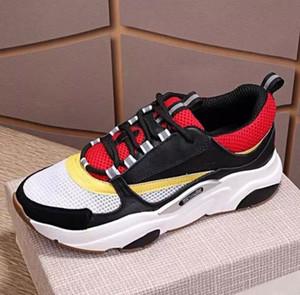 Chaussures de sport pour hommes avec toile et cuir de veau Europa