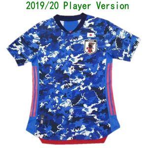 2020 Giappone Player versione Jersey di calcio 2019/20 # 9 Minamino NAGATOMO KUBO camicia uniforme Mens # 10 NAKAJIMA HONDA Calcio