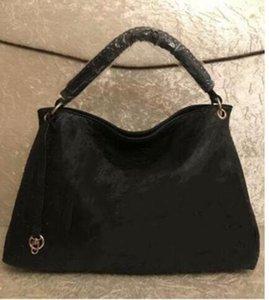 2020 كيس جديد خمر النقش الزهور النساء جلد حقيقي ارتسي حقيبة تسوق حمل مصمم المحفظة الكتف حقيبة اليد # M40249