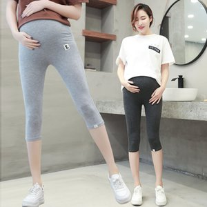 New Kind of Pregnant Women's Underpants in Summer Seven Points Pregnant Women's Pants in Korean Version