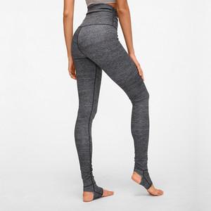Frauen Schritt zu Fuß Yoga Pants Body Building Lauftraining Tanz Gamaschen Quick Dry Stretchy Femme Strumpfhosen
