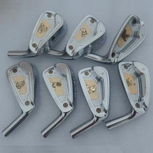 KENTACK Forged Irons Set Heads 7pcs / set # 4-9P Golf Club di ferro acciaio al carbonio di marca delle donne degli uomini di sport Nessun pozzo (Solo la testa, senza albero)