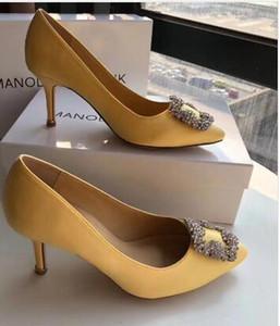 Hot genuino SETA scarpe da sposa argento Vendita-im strass alti che wedding pattino delle donne scarpe da sposa con scatola