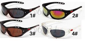 الصيف التجزئة العلامة التجارية الجديدة الرجال النظارات الشمسية الرياضة النظارات الشمسية الرياضة سونغلاسي نظارات الرجال والنساء الشاطئ العلامة التجارية الشمس السلحفاة 4COLORS FREESHIPPING