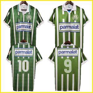 1992 1993 PALMEIRAS Retro Soccer Jerseys 1993 1994 maison vert vintage de Camiseta futbol classique 92 93 94 maillots de football