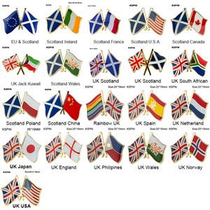 Freundschaftspins der Europäischen Union Anstecknadel Anstecknadel Flaggen-Abzeichen-Brosche