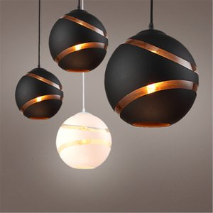 Verre ronde nordique pendentif boule lumières LED E27 Suspension lampe suspendue Luminaire Designer Minmalist Loft Lumières pour les enfants Living Room