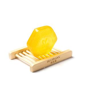 100g Handmade Honey Soap Deep Cleaning Natural Bath Body Skin Care Propolis Honey Milk Soap Bath