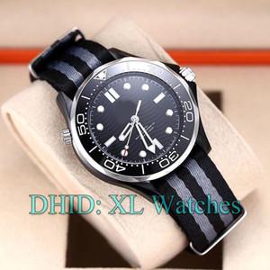 Luxo Mens relógio automático de pulso Movimento 210.92.44.20.01.002 Nylon Strap luminosa Características orologi da donna di lusso reloj de lujo