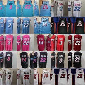 Hombres barato 3 14 22 25 Ciudad de Ganado Sport 2020 Jersey Rosa Blanco Rojo Negro Azul cosido bordado envío de la gota al por mayor de alta calidad