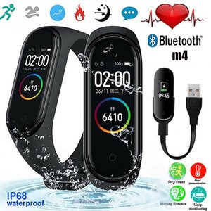 M4 Smart Band Fitness Tracker Sport bracelet Heart Rate Blood Pressure Waterproof Monitor Heart Rate mi 4 Band With Retail Package