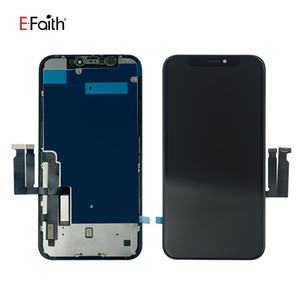 العرض LCD EFaith JK Incell ذات نوعية جيدة للحصول على XR إصلاح أجزاء استبدال الشاشة مع لوحة معدنية دي إتش إل الحرة الشحن