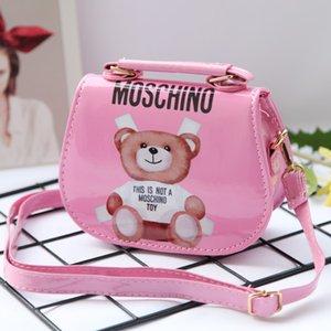 Baby Handtaschenentwerfers Kinder Jelly Messenger Bag Stilvolle Baby-Schultertasche Kleinkind-Geldbeutel-Mädchen Mini-Süßigkeit-Farben-Beutel 4Colors