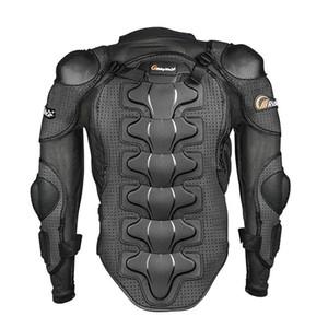 Chaqueta de montar la motocicleta de los hombres de la tribu 'S tamaño de la armadura de cuerpo completo del motocrós que compite con equipo de protección caliente de la manera M-4XL