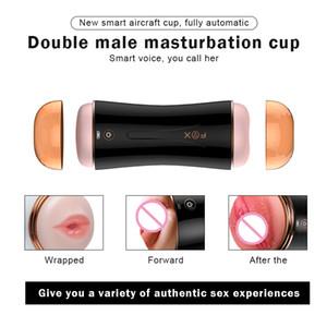 Sexo Pussy Adultos Brinquedos Loja Sexo Pussy Voz Sucking Masturbador Real Mulit-vibrador Bolso para vagina Masculino Y200411 TPxgr
