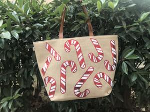 spalla del progettista 9styles Natale Ragazze paillettes borse Xmas shopping bag grande capacità di stoccaggio sacchetti delle signore di Natale Totes FFA3224