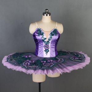 Новый танец Любимый Профессиональный балет Туту Deep Purple с золотыми женщин Sleeping Beauty Балерина Масленицу Юбка туту