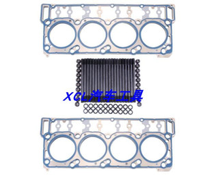 18mm Cylinder Head Screw Kit Cylinder Head Gasket for Ford ARP 6.0L Diesel Engine