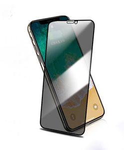 Verre Trempé pour IPhone 11 / 11Pro / 11ProMax Privacy Filter Peeping Confidentialité Protection Film verre Screen Protector Téléphone Steel Film
