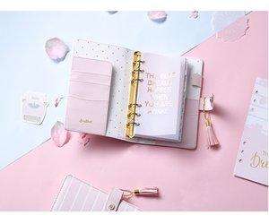 Toptan-Lovedoki 2017 Kiraz Çiçeği Günlüğü Sakura Notebook A5 2020 Sevimli Haftalık Planlamacılar Organizatör A5a6 Ofis Ve Okul Malzemeleri