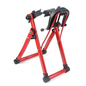 Rueda de bicicleta truing soporte de reparación de herramientas ayuda del sostenedor material plegable Plancha + plástica de la bicicleta Inicio truing soporte de 24-28 pulgadas de neumáticos