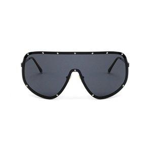 MINCL / 2020 oversize XXL enorme avvolgente Grande Schermo delle donne Occhiali da sole polarizzati uomini e le donne di moda gli occhiali da sole unici FML