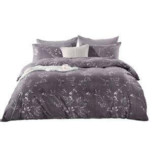 HM Life Bettwäsche-Set aus 100% Polyester, ohne Bettlaken. Imitieren Sie ägyptische Baumwolle, bedruckt mit einem Gummiband